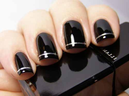 h creative black and white nail art how to black and silver nail art images black and silver nail art ideas red and black nail art images pink and black nail art ideas pink and black nail art im