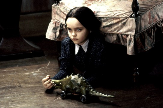 Wednesday Addams From Addams Family 543x360