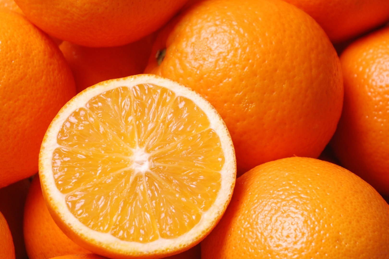 orange king of fruits
