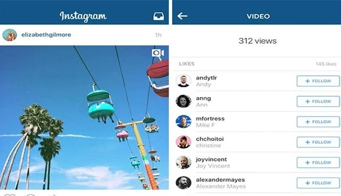 Instagram: Πρόσθεσε view counter στα videos