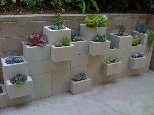 decorate with concrete blocks 11