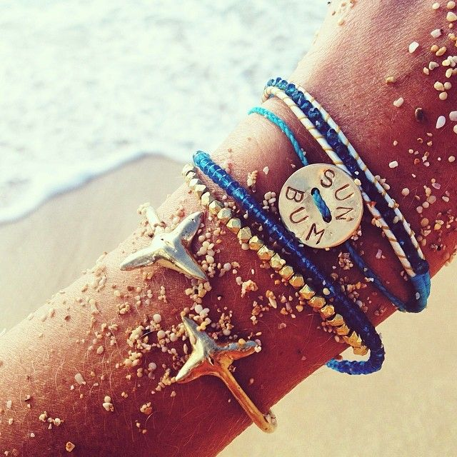 Wearing Jewelry On The Beach