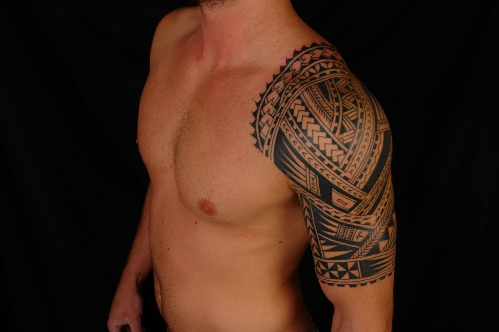 tribal half sleeve tattoos for men 89088