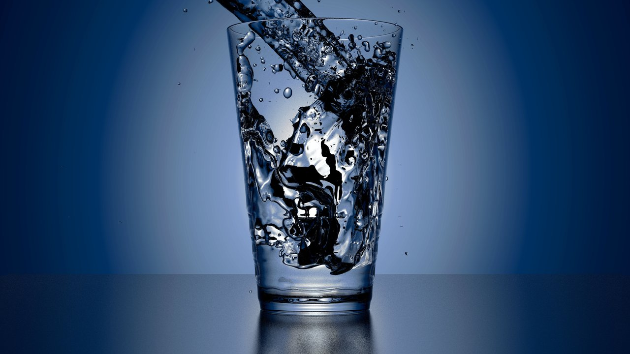 glass of water privatisation