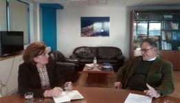 Στην Αθήνα βρέθηκε ο Δήμαρχος Νισύρου για θέματα που αφορούν το Δήμο
