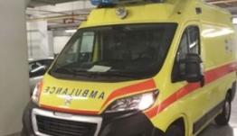 Καινούργιο ασθενοφόρο έφθασε στη Νίσυρο