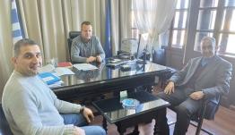 Συνάντηση εργασίας για το περιβάλλον είχε ο Αντιπεριφερειάρχης Δωδεκανήσου Χρήστος Ευστρατίου