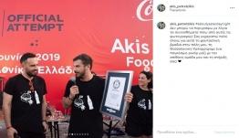 Άκης Πετρετζίκης: Μπήκε στο βιβλίο Guinness - Δες για ποιο λόγο!