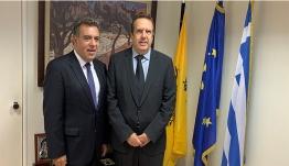 «Συνάντηση του Υφυπουργού Τουρισμού Μάνου Κόνσολα με το Προεδρείο της Ελληνικής Συνομοσπονδίας Εμπορίου και Επιχειρηματικότητας»