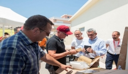 """""""Σύγχρονο εξοπλισμό παρέδωσε στις εθελοντικές οργανώσεις πολιτικής προστασίας η Περιφέρεια Νοτίου Αιγαίου"""""""