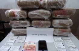 Σημαντικό πλήγμα σε κανάλι διακίνησης ναρκωτικών πέτυχε το Τμήμα Δίωξης Ναρκωτικών της Υποδιεύθυνσης Ασφαλείας Ρόδου