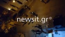 Εξάρχεια: Επεισόδια και μολότοφ κοντά στην πλατεία! video