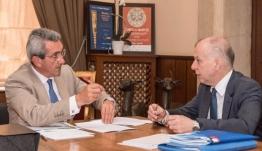 Γιώργος Χατζημάρκος – Αντώνης Καμπουράκης: «Θα σχεδιάσουμε ξανά το νησί της Ρόδου»