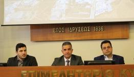 «Σημαντικές θεσμικές παρεμβάσεις για την ακτοπλοΐα και το Λιμενικό σύστημα της Χώρας ανακοινώθηκαν από τον Αν. Υπουργό Ναυτιλίας Ν. Σαντορινιό στη Σύρο»