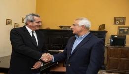 Με τον Καλύμνιο δήμαρχο του Τάρπον Σπρινγκς συναντήθηκε ο Περιφερειάρχης