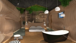 100% Hotel Show 2018: Ο Δωδεκανήσιος σχεδιαστής Αντώνης Ήσυχος παρουσιάζει την πρότασή του για ένα πρότυπο ξενοδοχειακό δωμάτιο