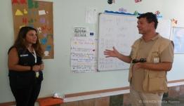 Τα Δωδεκάνησα επισκέφθηκε ο Aντιπρόσωπος της Ύπατης Αρμοστείας του ΟΗΕ για τους Πρόσφυγες στην Ελλάδα