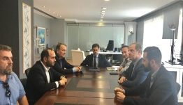 Συνάντηση και επίλυση θεμάτων για τα Λουτρά Πόζαρ υπό τον υπουργό Τουρισμού κ. Χάρη Θεοχάρη.