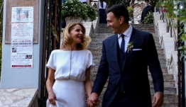 Οι φωτογραφίες από τον γάμο Κικίλια - Μπαλατσινού