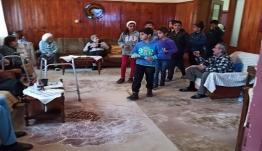 Δωρεά από το σχολείο Ledu στο γηροκομείο Λέρου