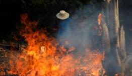 Συγκλονιστικό! Εκατοντάδες χιλιάδες δάσους καίγονται στον Αμαζόνιο