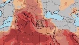 Θα χαθεί ο ήλιος από τη σκόνη – Πολύ υψηλές θερμοκρασίες
