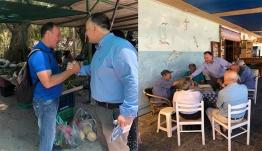 Ο Ιωάννης Παππάς συνεχίζει τις περιοδείες του στο νησί της Ρόδου