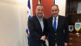 Σύσκεψη του Βουλευτή Δωδεκανήσου κ. Ιωάννη Παππά με τον Υπουργό Ναυτιλίας και Νησιωτικής Πολιτικής κ. Ιωάννη Πλακιωτάκη.