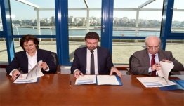 Υπογραφή μνημονίου συνεργασίας για την ανάπτυξη νέων τεχνολογιών σε νησιωτικές περιοχές, στον τομέα της Κατάρτισης και της Δια Βίου Μάθησης