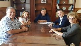 Τον Δήμαρχο Θεοδόση Νικηταρά επισκέφτηκε σήμερα ο Πρόεδρος της Πανελλήνιας Ομοσπονδίας Ξενοδόχων Γρηγόρης Τάσιος συνοδευόμενος από το Δ.Σ. της Ένωσης Ξενοδόχων Κω.