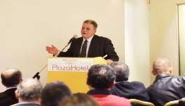 Ο κ. Μανώλης Γλυνός στην ομιλία του κ. Γιώργου Νικητιάδη
