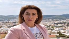 Η Μαριάννα Βακονδίου από τη Σύρο, υποψήφια στο πλευρό του Γιώργου Χατζημάρκου