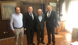 Στο Υπουργείο Εσωτερικών ο Ιωάννης Παππάς με τον Δήμαρχο Καρπάθου