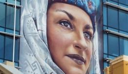 Η μεγαλύτερη τοιχογραφία στη νότια Αυστραλία παρουσιάζει μια Καστελοριζιά!