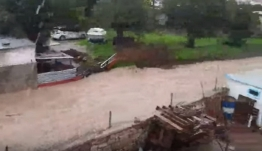 Βούλιαξε η Ρόδος! Πλημμύρες και σοβαρά προβλήματα από τη σφοδρή βροχόπτωση