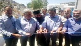 Εγκαίνια μονάδας αφαλάτωσης στο Αγαθονήσι - Ν. Σαντορινιός: Θα συνεχίσουμε να οραματιζόμαστε μαζί με τους νησιώτες το μέλλον