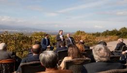 Κ. Μητσοτάκης: «Είμαι μεγάλος οπαδός του ελληνικού κρασιού»-Σύνδεση Τουρισμού με αγροδιατροφικό τομέα και Πολιτισμό