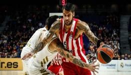 Euroleague: «Πλήρωσε» τα λάθη του ο Ολυμπιακός – Έχασε με 93-77 από την Ρεάλ Μαδρίτης