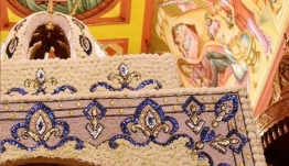 Στην Χαλκιδική στολίζουν τον Επιτάφιο επί ένα μήνα -Ιδού το αποτέλεσμα [εικόνα]