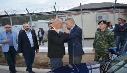 Λέρος: Σύσκεψη με τον υφ. Αμυνας Αλκιβιάδη Στεφανή, για το μεταναστευτικό