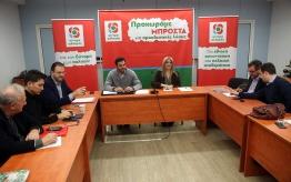 Η πρώτη λίστα των υποψηφίων βουλευτών του ΚΙΝΑΛ στις περιφέρειες