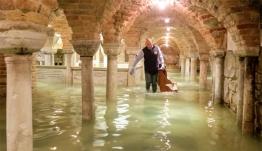 Βενετία: Νέες εικόνες σοκ μέσα από την Βασιλική του Αγίου Μάρκου