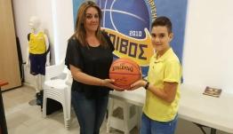Φοίβος : Μπάλα με την υπογραφή του Kobe στον 3ο νικητή του διαγωνισμού ζωγραφικής