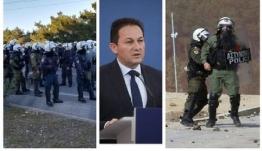 Πέτσας: Αποχώρηση των ΜΑΤ από Μυτιλήνη και Χίο-Να συγχαρούμε τις αστυνομικές δυνάμεις, έδειξαν πρωτοφανή αυτοσυγκράτηση