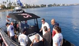 Με επιτυχία ολοκληρώθηκε η εκπαίδευση στη θαλάσσια διάσωση από εκπαιδευτή-επαγγελματία διασώστη της Γερμανικής διασωστικής οργάνωσης DGzRS.