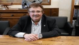Ο Μιχάλης Μπαριανάκης, υποψήφιoς για μια ακόμη θητεία με τον Γιώργο Χατζημάρκο