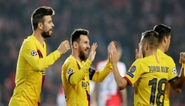 Champions League: Ιστορικό γκολ για Μέσι – «Mπήκε στο κόλπο» η Ίντερ