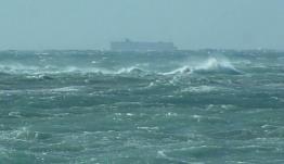 Ακυβέρνητο φορτηγό πλοίο πλέει στη θαλάσσια περιοχή μεταξύ Καλύμνου-Αστυπάλαιας