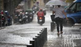 Έκτακτο δελτίο – Βροχές καταιγίδες και χαλάζι