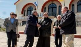 Συνάντηση του Περιφερειάρχη, Γιώργου Χατζημάρκου, με τον Μητροπολίτη Κωου - Νισύρου, κ. Ναθαναήλ